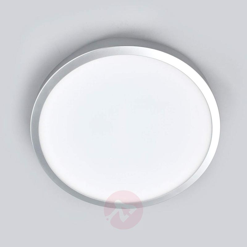 Liyan - silver LED ceiling lamp for the bathroom - indoor-lighting