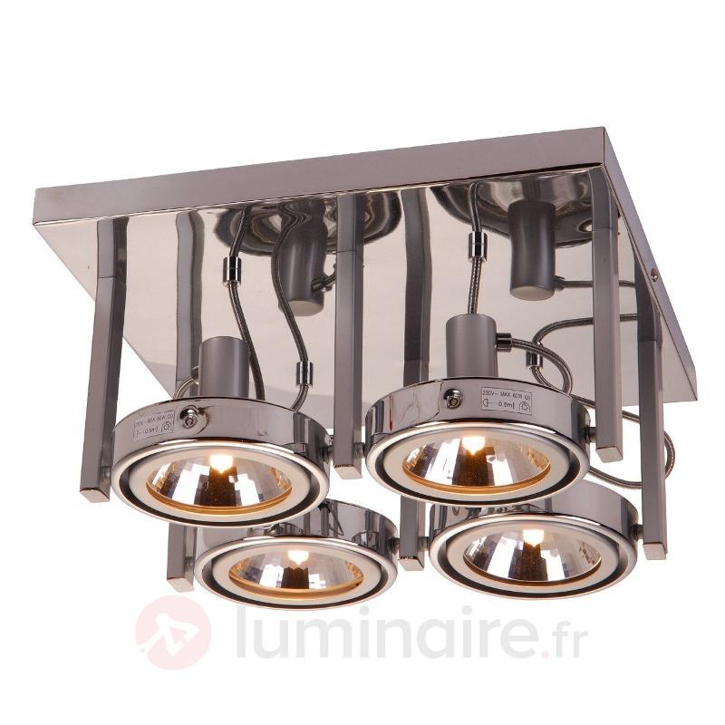 Plafonnier KURIANA à 4 lampes - Spots et projecteurs halogènes