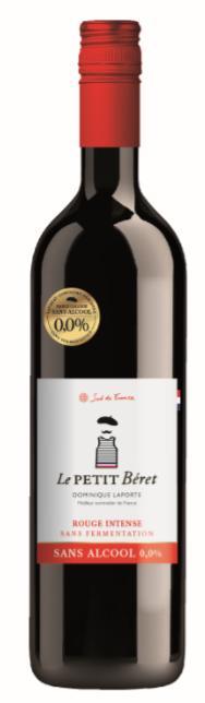 ROUGE INTENSE SANS ALCOOL 0.0% ET SANS FERMENTATION - Boissons