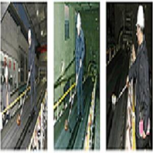 Detector de la posición de la cinta transportadora del