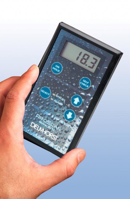 Building materials moisture meter - Inspection - ProScan pinless