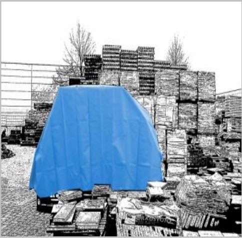 Bache plate 570 gr/m² - bacheplate570