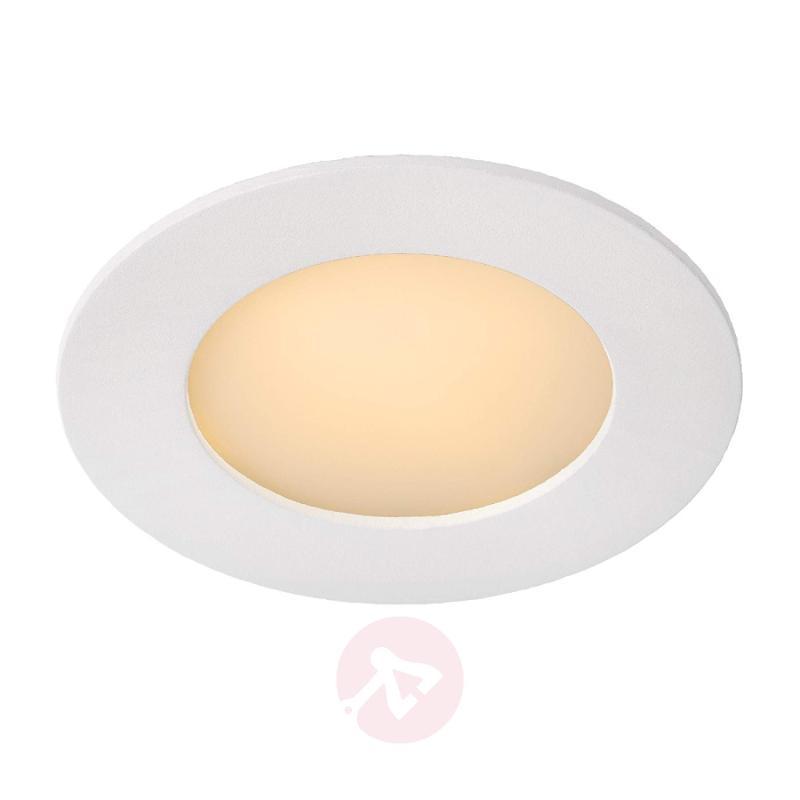 Simple Brice LED recessed light, round - design-hotel-lighting