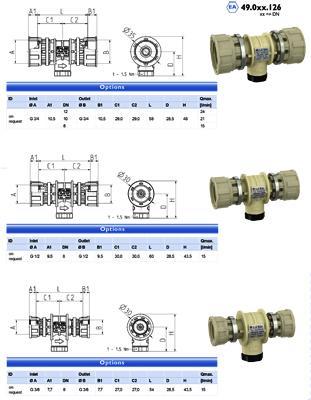 Non-return valve - type EA, EC - 49.0xx.x26
