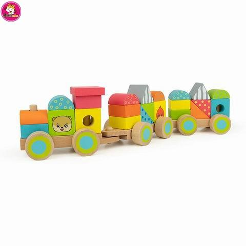 Stacking Train Toy - Educational Toy