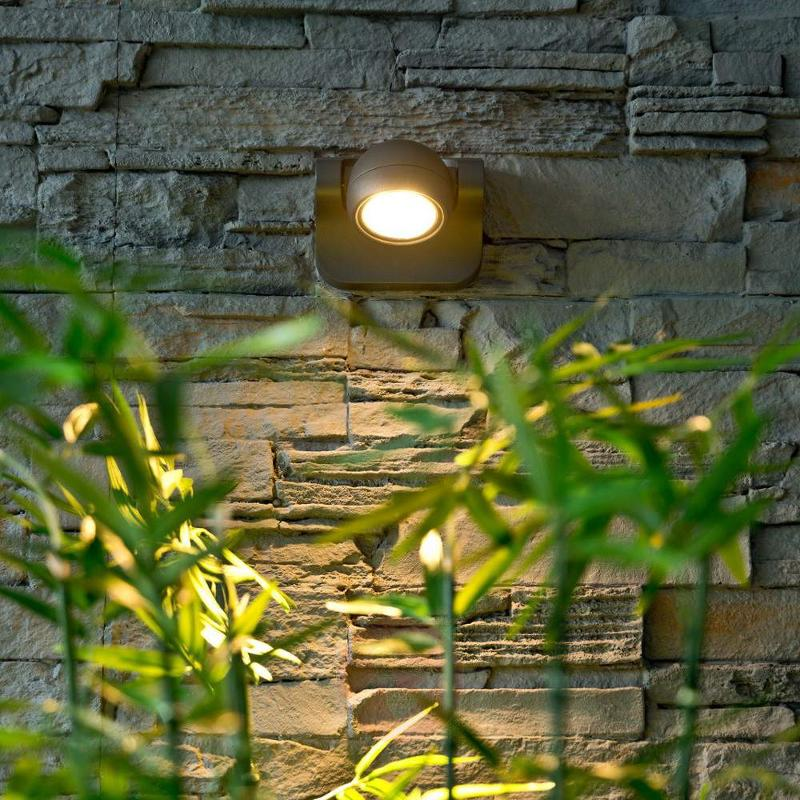 Adjustable LED outdoor wall light Larry - Outdoor Wall Lights