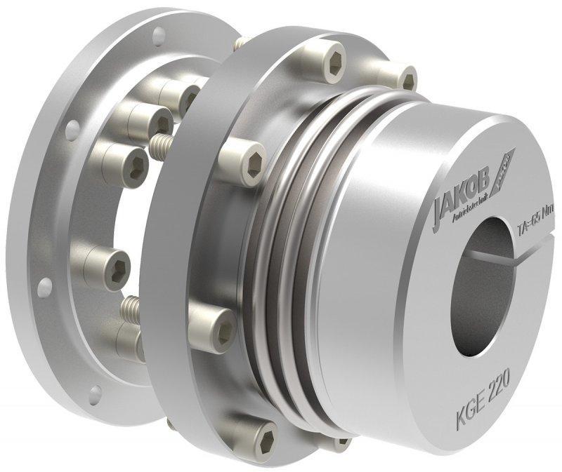 Metallbalgkupplung KGE