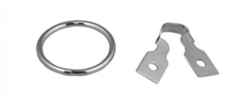 Porte anneau simple + anneau - Porteanneausmplunit
