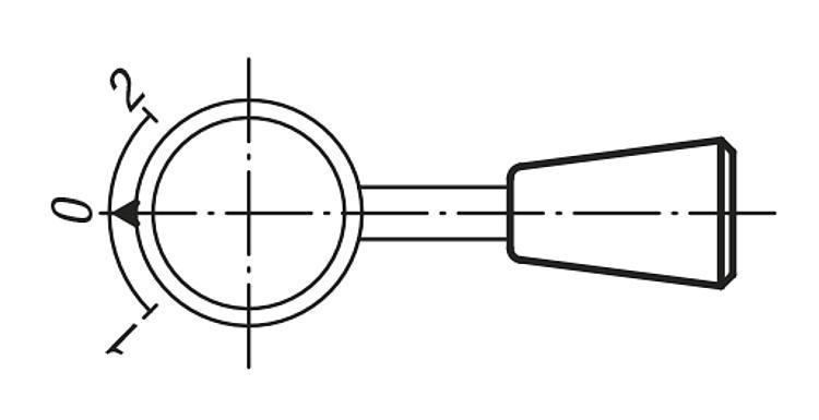 Embout conique - Poignées et boutons