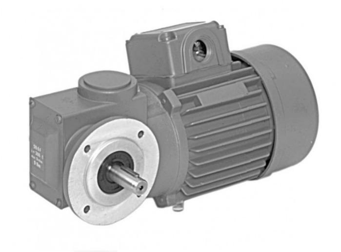 SN6F - Zweistufiger Getriebemotor mit Ausgangswelle