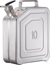 Canisters - Safety canister (10 liters) with metering device: 10KD