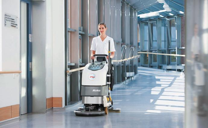 Scrubmaster B45 - Compact walk-behind scrubber-drier for small to medium-sized areas