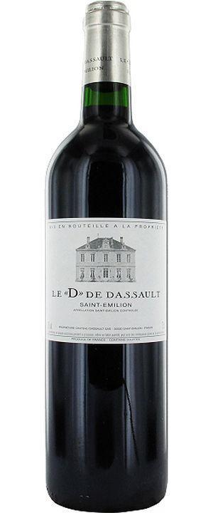Saint-Emilion wine AOC  - Le D de Dassault