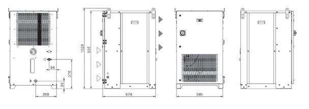Tco22÷55 Grandezza 1 Trifase Refrigeratori Industriali Per Olio - LINEA REFRIGERAZIONE