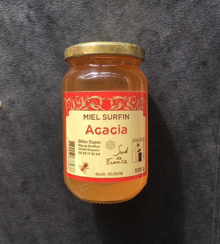 Miel Acacia - Épicerie sucrée