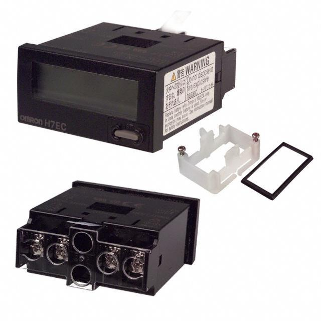 COUNTER LCD 8 CHAR PANEL MOUNT - Omron Automation and Safety H7EC-NV-B