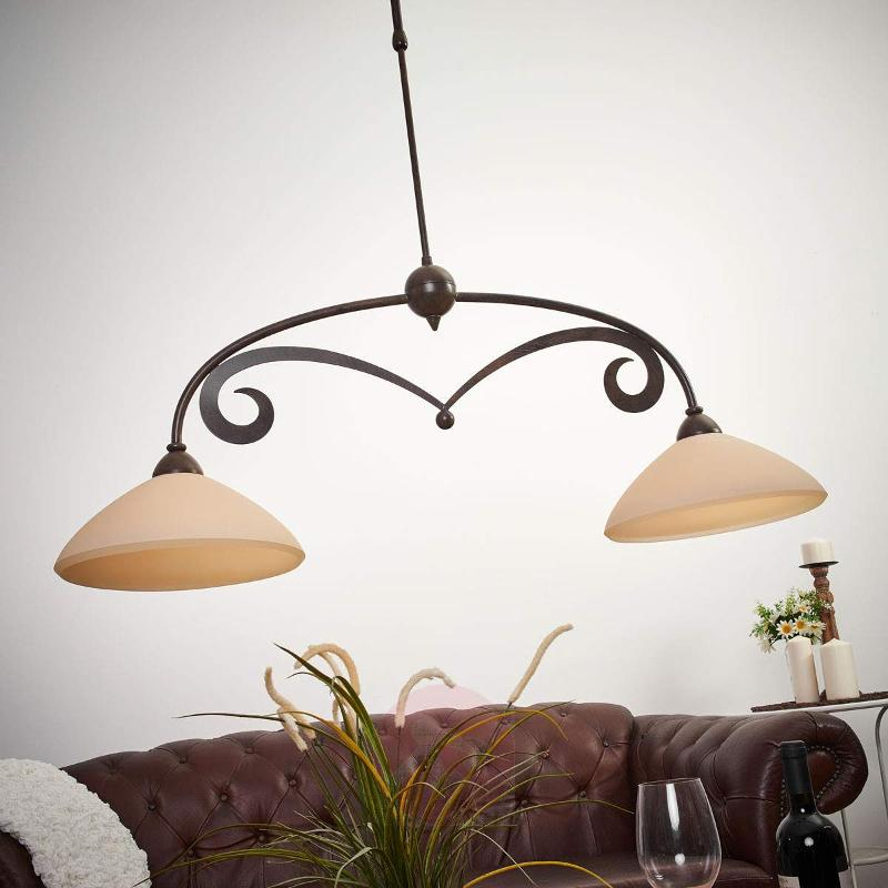 Attractive country house hanging light Luca - Pendant Lighting