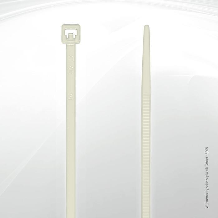 Allplastik-Kabelbinder® cable ties, standard - 5205 C (natural)
