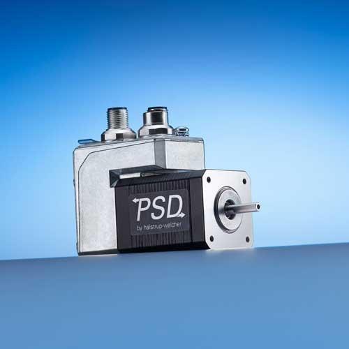 Direct Drive PSD 40 - Attuatori con direct drive flangia Nema 17, disegno trasversale