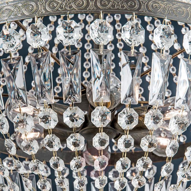 Andara Crystal Hanging Light Impressive 60 cm - Pendant Lighting