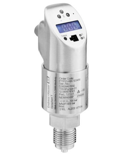 mesure pression - pression absolue relative ceraphant T PTP31