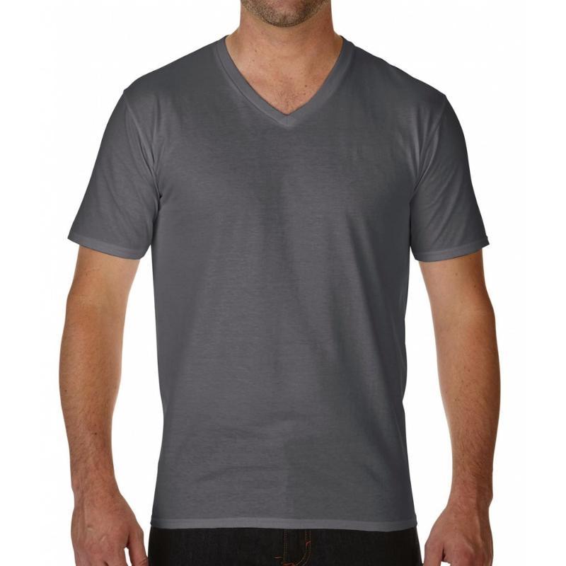 Tee-shirt col V Premium - Manches courtes