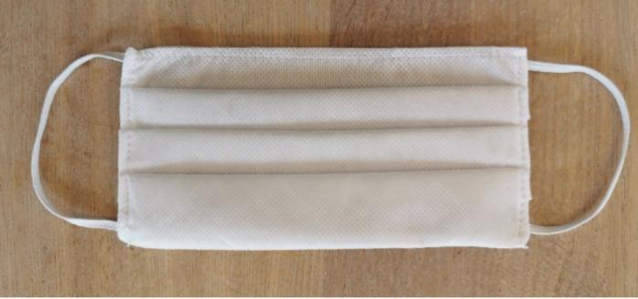 Masque de protection de confort en tissus - Lavable- imperméable- agréable à porter