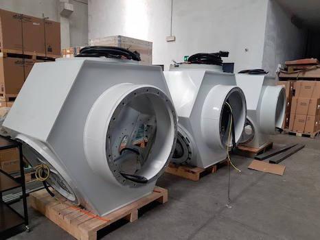 Turbine eoliche prodotte in Italia