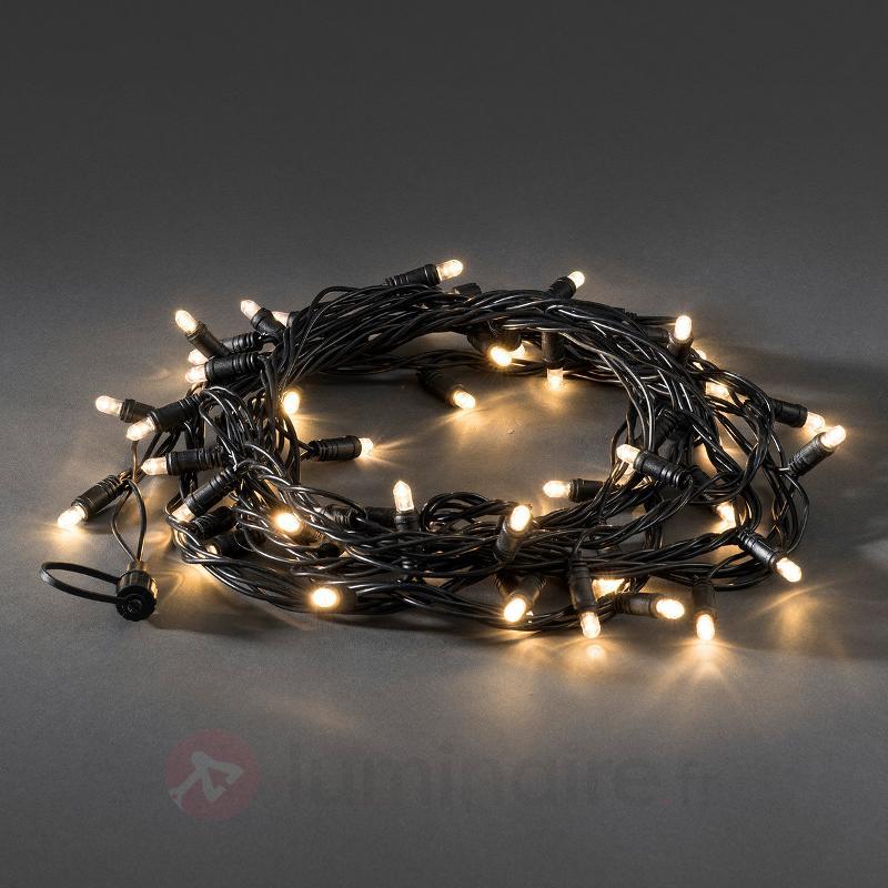 Extension pr syst. guirlande LED 24V, 50 lampes - Système 24V LED Konstmide