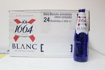 KRONENBOURG White Beer with lemon taste - null