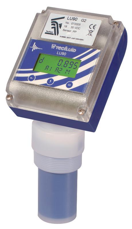 Indicateur / Transmetteur de niveau à ultrasons série LU - null