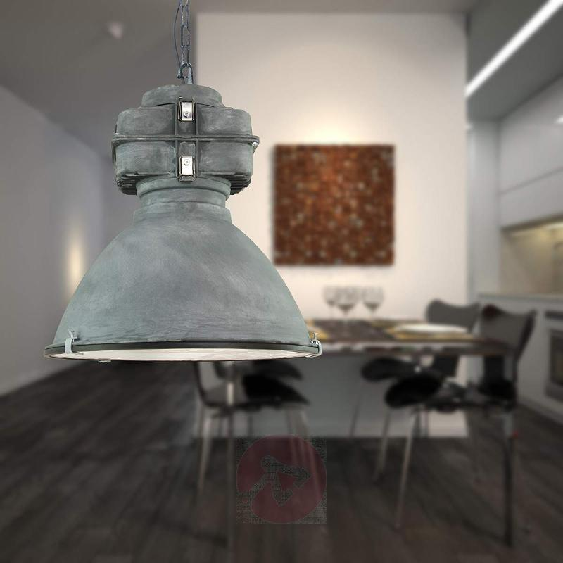 Anouk - vintage hanging lamp with diffuser - Pendant Lighting