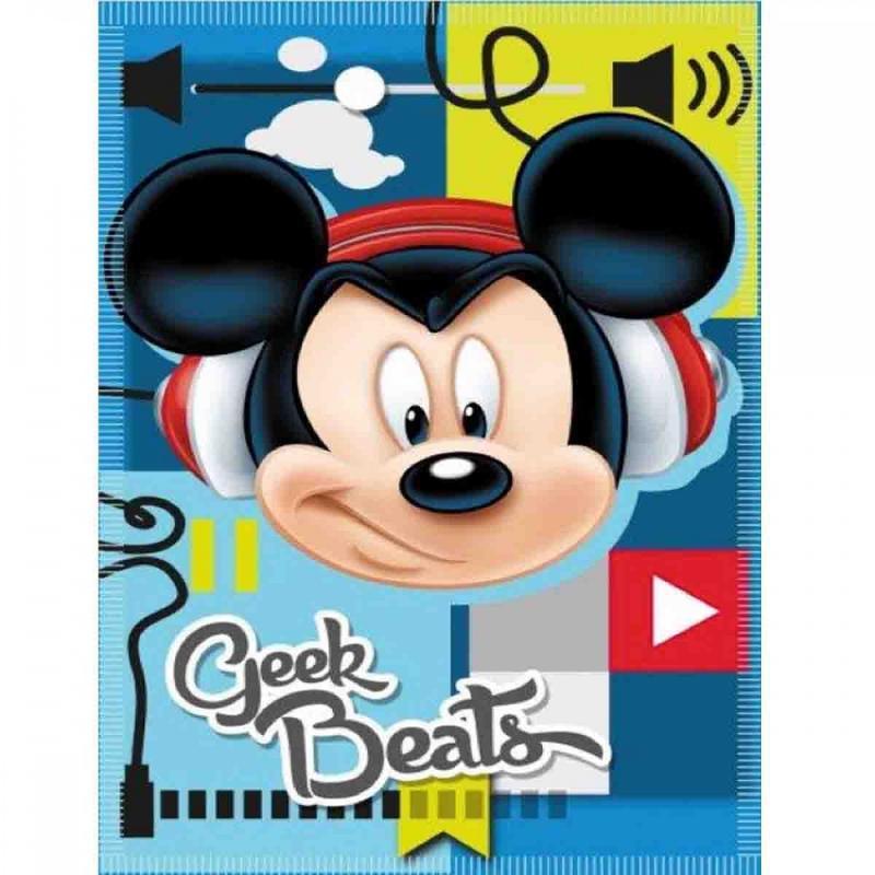 12x Couvertures plaids polaires Mickey 140x100 - Linge de maison