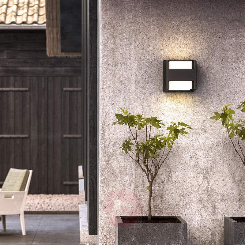 Two-bulb LED outdoor wall light Arbour, IP44 - Outdoor Wall Lights