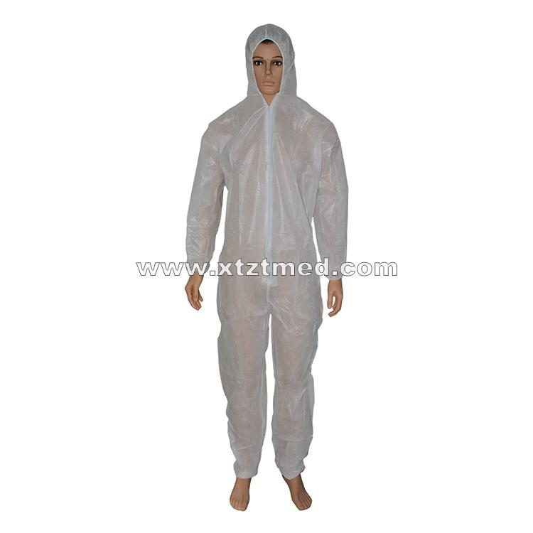 PP Coated PE Coverall -
