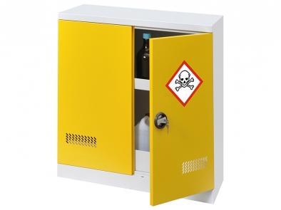Armoire Sécurisée Multi-produits - Armoire Basse 2 Portes - Rétention 72 L - ARMSP100-95-Armoires de sécurité simple parois