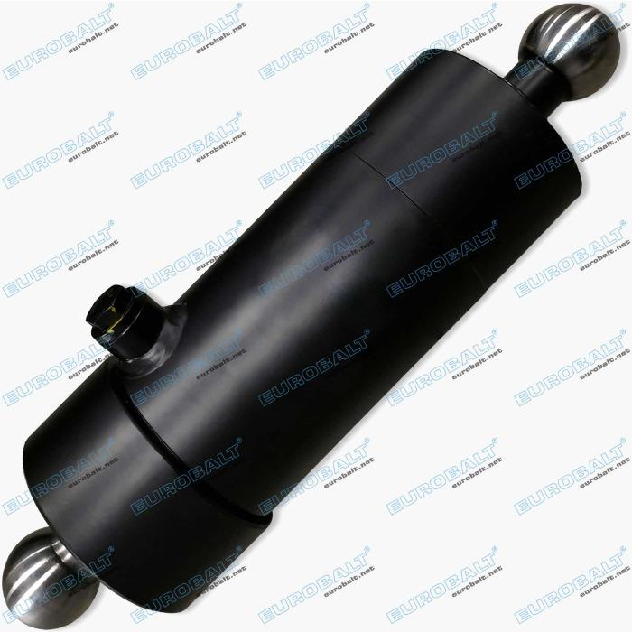 Telescopic two-stage cylinder (piston stroke: 585 mm) - Telescopic three-stage cylinder HC000902