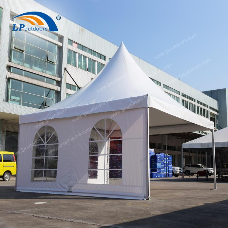 Tienda de pagoda de aluminio al aire libre de 5x5m para boda - Tienda de fiesta de5 metros de LP OUTDOORS