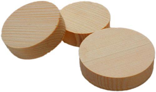 Abdeckscheiben für den Holzleimbau