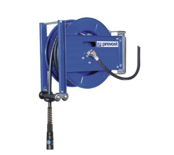 Enrouleur de tuyau à tambour ouvert - Tuyau en caoutchouc avec système anti torsion