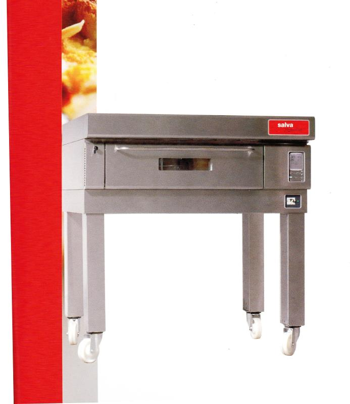 Pizzaovens - SALVA type MODULAR pizza oven
