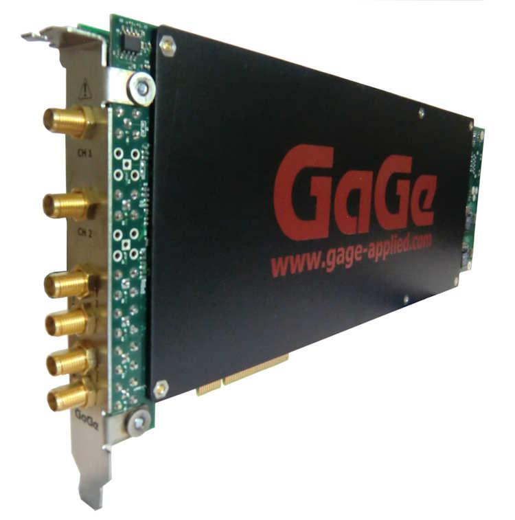 16 Bit Digitizer, 2 Kanal 1 GS/s für PCIe Gen-3