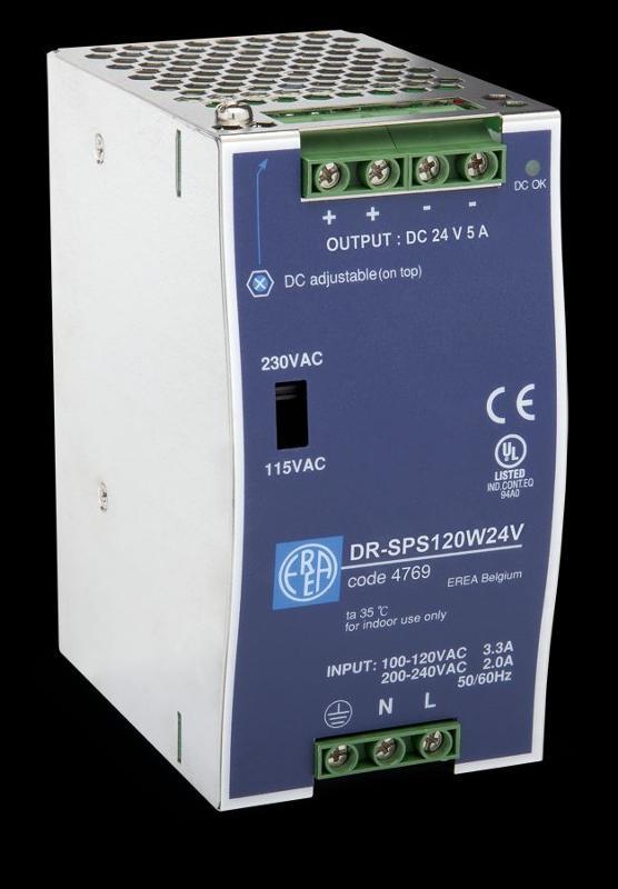 Gleichspannungsversorgungen - DR-SPS120W24V