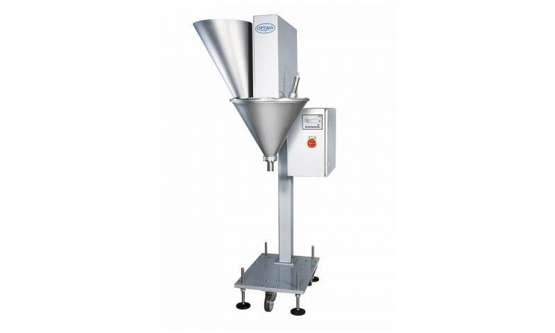 Auger filler OPTIMA SDeco - Auger filler OPTIMA Sdeco: Powder or granular products