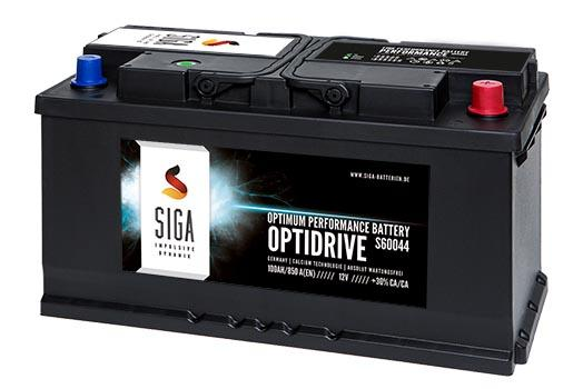 SIGA OptDrive Autobatterien