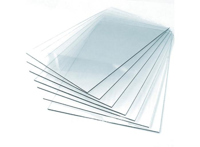 Baguette and frame glass - 1.7 mm clear glass for dashboard, baguettes and frames