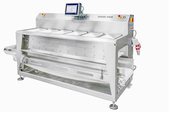 Linear combination weigher SP6-12 - WEIGHERS (DOSING EQUIPMENT FOR THE FOOD INDUSTRY)