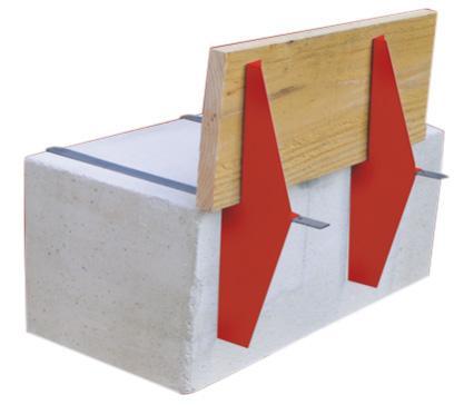Sabot de coffrage système CROC  - Coffrage de dalle en béton