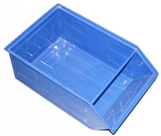 Open Fronted Metal Box - for storage