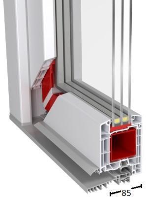 Porte PVC -